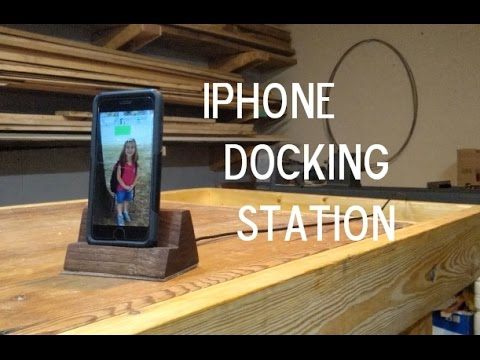 DIY iphone 6 with Otterbox docking station- inspired by Giaco Whatever