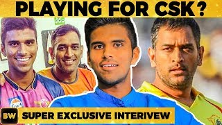 Dhoni's First Personal Advice - Washington Sundar Reveals! | EN 49
