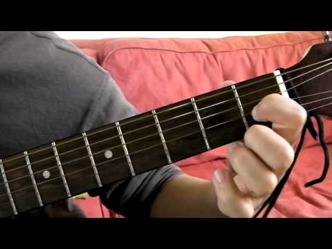 E Major Guitar Chord Demonstration