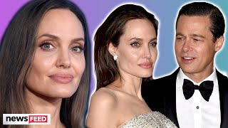 Angelina Jolie Speaks Out About Brad Pitt & 'TOUGH' Times!