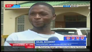 Family that survived the Gilgil accident narrates how they escaped with minor injuries