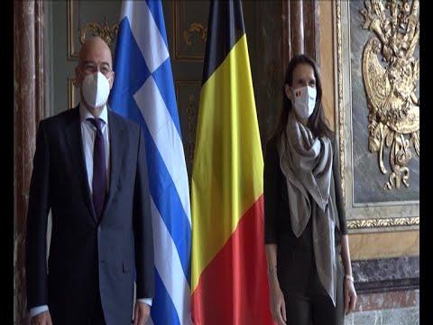 Στις Βρυξέλλες ο Υπουργός Εξωτερικών Νίκος Δένδιας