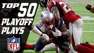 Top 50 Plays of 2016 Playoffs   NFL Highlights