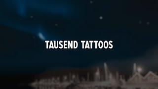 Sido   Tausend Tattoos (Lyric Video)