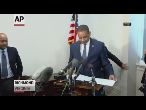 Virginia Lt. Gov. Justin Fairfax says he's asked prosecutors to investigate sexual assault allegations two women have made against him. (April 3)
