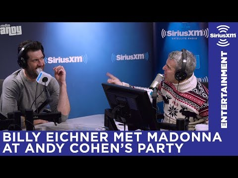 Madonna showed up at Andy Cohen's party and made everyone nervous