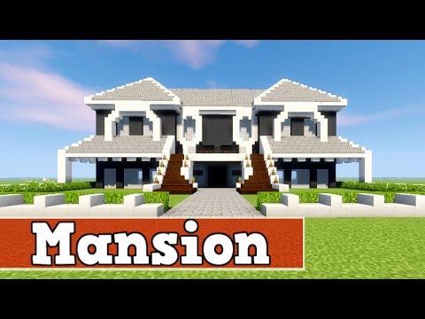 Wie Baut Man Eine Mansion In Minecraft Minecraft Deutsch Haus Bauen - Minecraft pocket edition hauser bauen
