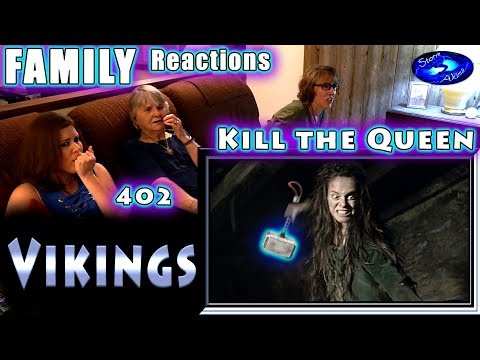 VIKINGS | 402 | Kill the Queen | FAMILY Reactions | Fair Use