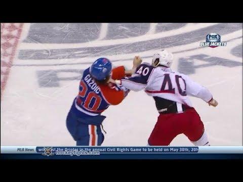 Jared Boll vs Luke Gazdic