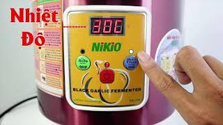 Video review nồi (máy) làm tỏi đen tự động Nikio NK-696 mới nhất