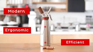 iSi Introduces Nitro Whip Nitro Charger. Kitchenware  Product Explainer Videos