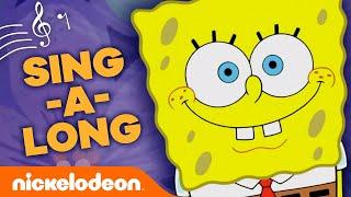 The SpongeBob SquarePants Theme Song (CHALLENGE VERSION)! 🍍 Nick Singalong Challenge