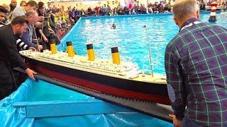 HUGE MONSTER RC SHIP // FULL DETAILED RC BOAT TITANIC // INTERMODELLBAU DORTMUND // MS TITANIC