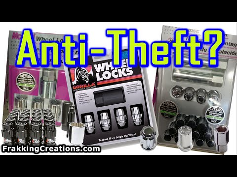 Do Wheel Locks Work? Gorilla & McGard Rim Protection! Tools used to Remove without KEY