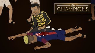 Who Killed Neymar At The Champions House Dinner Party?   The Champions S1E8