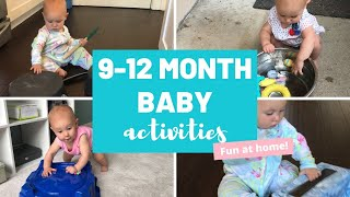 ACTIVITIES FOR 9 MONTH OLD   HOW TO PLAY WITH 9 MONTH OLD   ACTIVITIES FOR BABIES 9-12 MONTHS