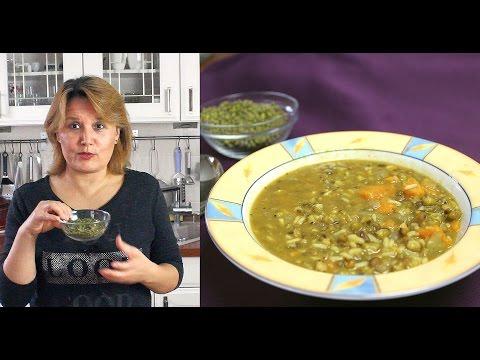 MUNGBOHNEN-GEMÜSE-EINTOPF - vegan, Bohnen-Rezept - die kleine Superbohne - Canans Rezepte