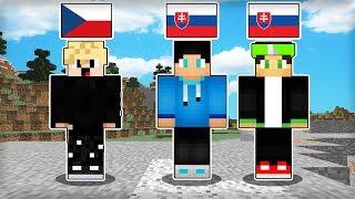 Minecraft, ale sme si Vymenili Jazyky
