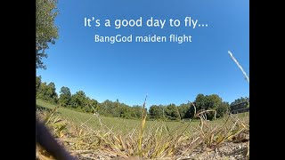 BangGod Maiden Flights