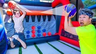 GIANT Basketball Connect 4 (WINNER gets $10,000)