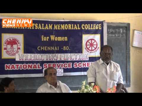 Bhaktavatsalam Memorial College for Women video cover3