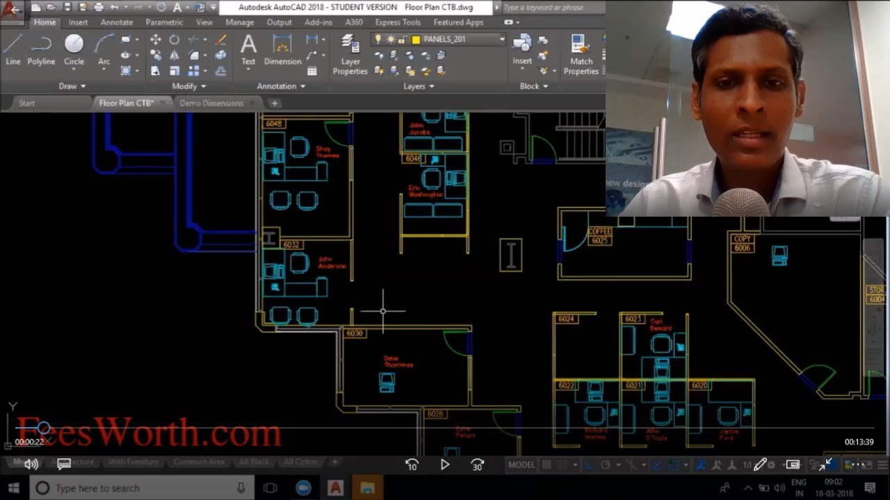 AutoCAD Course Overview (Construction Industry)