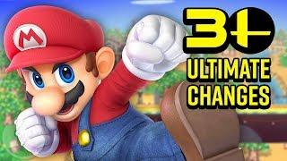 30 Ultimate Changes in Smash Bros. Ultimate! | The Leaderboard - dooclip.me
