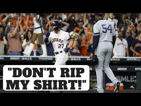 "Astros Cheating in 2019 ALCS? ""Don't Rip My Shirt!"" - José Altuve"