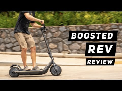 BOOSTED REV ELECTRIC SCOOTER REVIEW!  | MicBergsma
