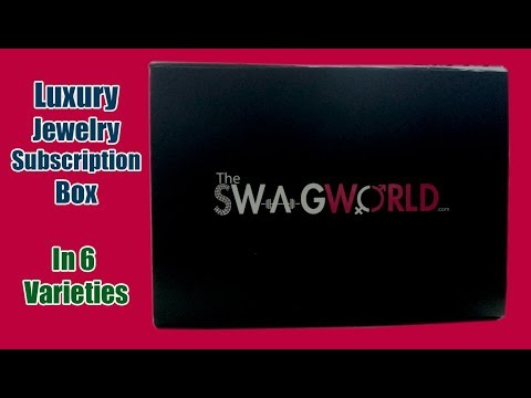 *New The SWAG WORLD Box | Luxury Jewelry Subscription Box | Honest Review | SahiJeeth
