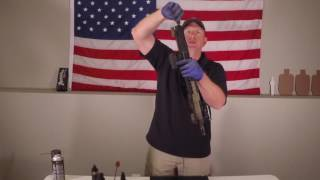AR15 Rifle Cleaning