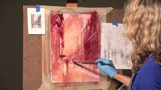 Michele Byrne: Palette Knife Cityscapes