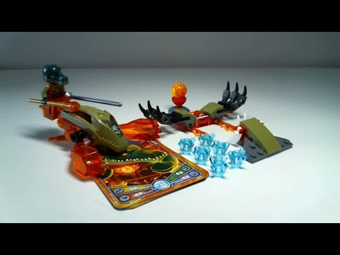 Vidéo LEGO Chima 70150 : Cragger - Challenge : Les griffes de feu