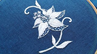 Single Cute Hand Embroidery Flower Designs:Amazing Embroidery Designs:Free Designs Everyday 2020