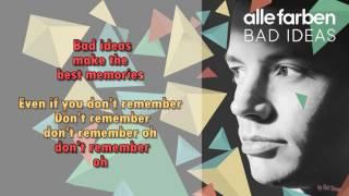 Alle Farben    Bad Ideas    Instrumental