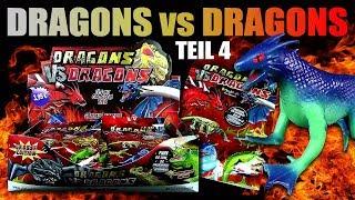 Dragons vs Dragons !!! Gummi Drachen gegen Echsen - Teil 4 !!! Spannung !!! Unboxing & Review