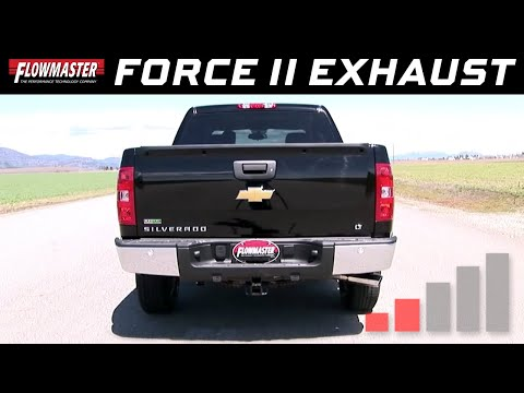 2007-13 GM Silverado/Sierra 1500 4.8L, 5.3L - Force II Cat-back Exhaust 817523