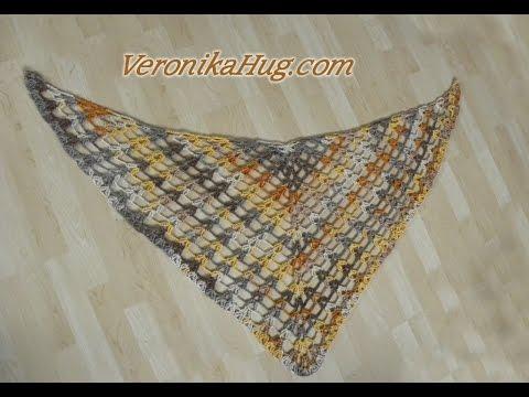 Häkeln - Tuch ALBA Häkeltuch Dreieckstuch - Woolly Hugs 02 - Veronika Hug