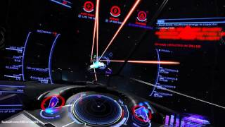 LHS 142 PvP : How to kill a clipper and Anaconda in 120 seconds! ( Elite Dangerous 1.4 .01 )