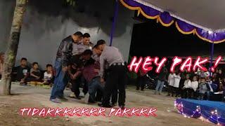 VIRAL ! PRANK temen ulang tahun ditangkap polisi gara-gara N*RKOB4