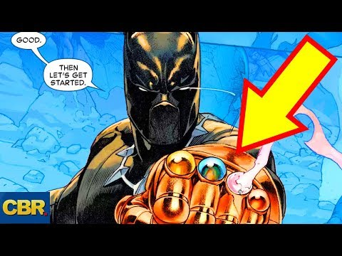 8 Comic Book Characters You Won't Believe Wore The Infinity Gauntlet