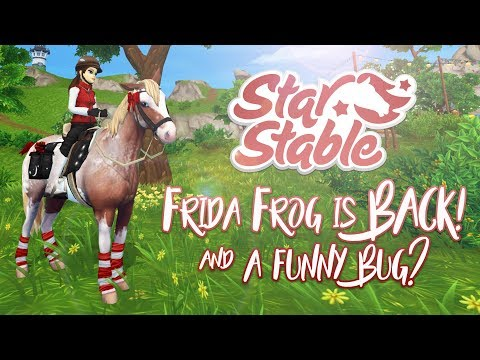 Frida Frog is BACK & a funny bug? | Star Stable Updates