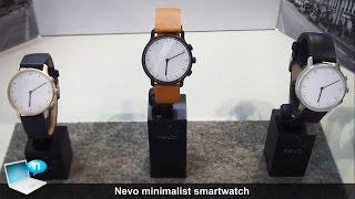 Nevo smartwatch minimalist watch, solar charge, gesture control and Wiko smartwatch by Nevo