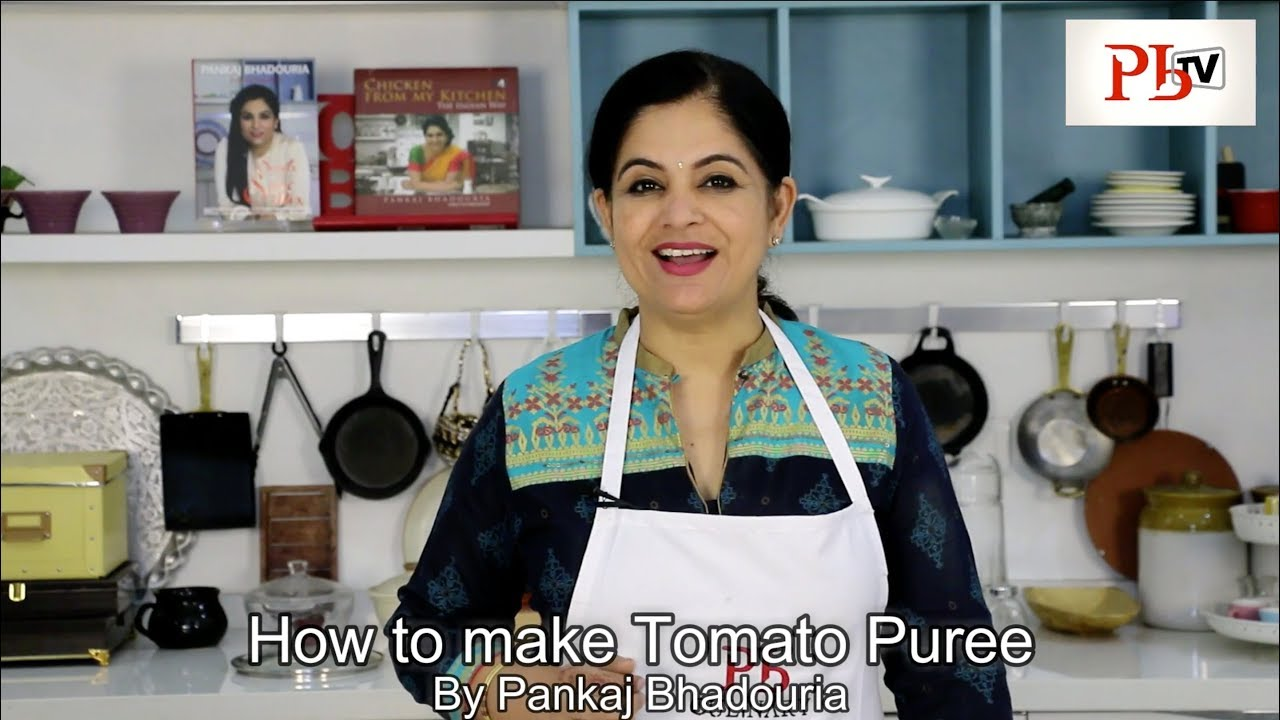 How to make Tomato Puree Image