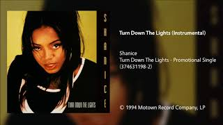 Shanice Turn Down The Lights Instrumental