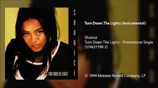 Shanice - Turn Down The Lights (Instrumental)