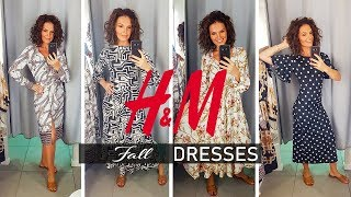 5 H&M FALL DRESSES TRY ON