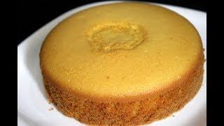 sponge cake without oven – basic plain vanilla sponge cake – sponge cake recipe in pressure cooker