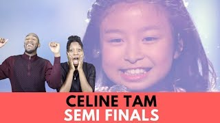 """Celine Tam: 9-Year-Old Stuns The Audience With """"How Far I'll Go"""" - AGT 2017 Reaction"""