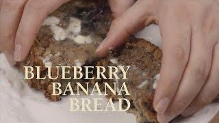 Lovina's Amish Blueberry Banana Bread Recipe